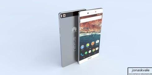 Huawei Nexus concept render 1