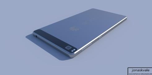 Huawei Nexus concept render 4