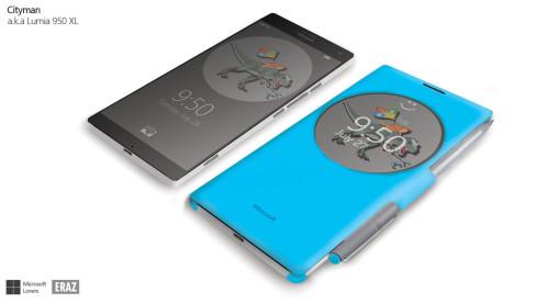 Microsoft Cityman Lumia 950 XL render 1