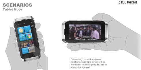 Motorola transparent screen smartphone concept 3