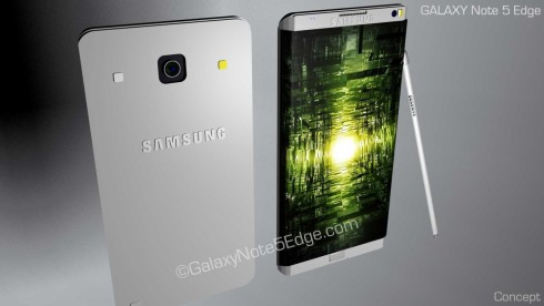 Samsung Galaxy Note 5 Edge concept 1