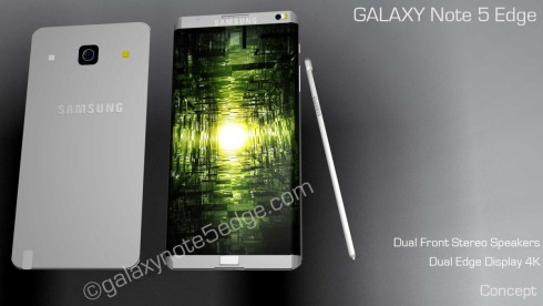 Samsung Galaxy Note 5 Edge concept 3