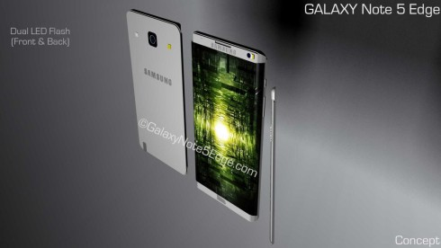 Samsung Galaxy Note 5 Edge concept 5