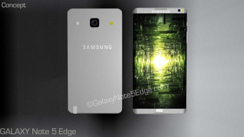 Samsung Galaxy Note 5 Edge concept 6