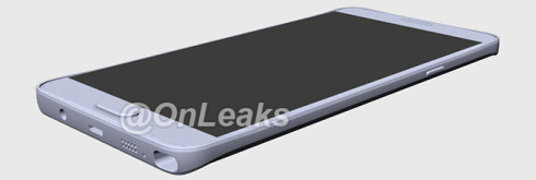 Samsung Galaxy Note 5 leaked render 2