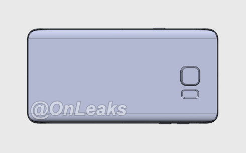 Samsung Galaxy Note 5 leaked render 3
