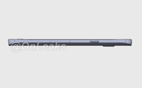 Samsung Galaxy Note 5 leaked render 4