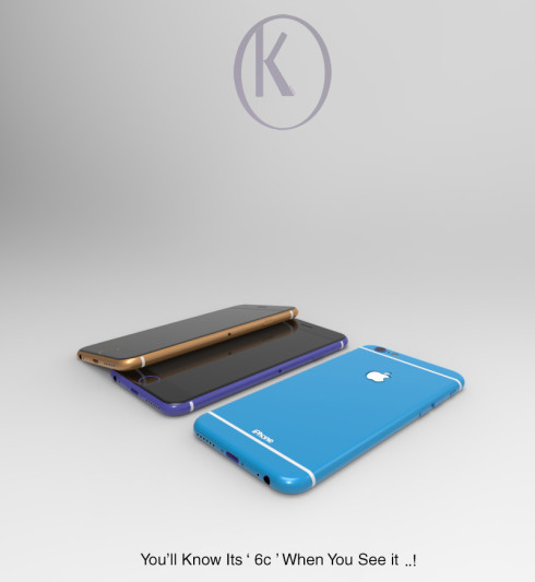 iPhone 6c concept Kiarash Kia 1