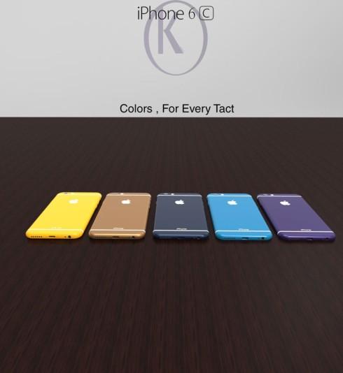 iPhone 6c concept Kiarash Kia 2