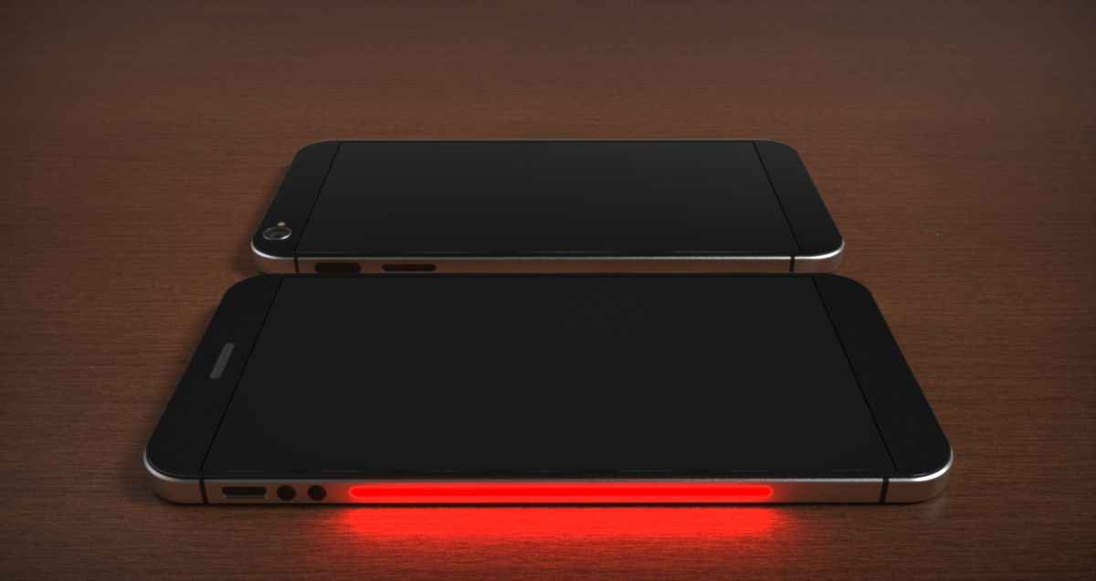 The All New IPhone 8 Is Here And It Has Been Rendered By Jermaine Smit Come With A Few Really Innovative Features Like Its Two Screens