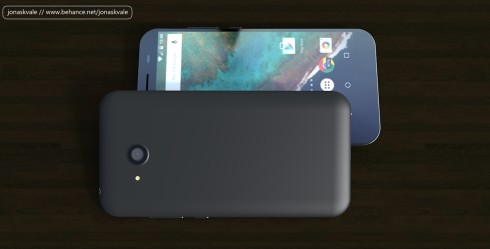 Budget Android concept phone USB type c 2