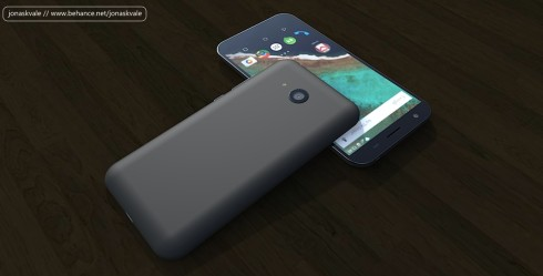 Budget Android concept phone USB type c 3