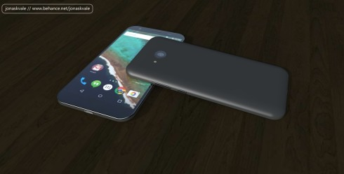 Budget Android concept phone USB type c 4