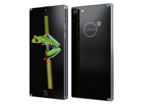 Lunark bi folding smartphone concept 2