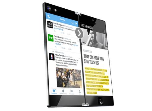 Lunark bi folding smartphone concept 5