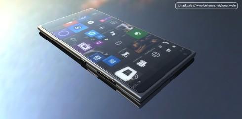 Microsoft Lumia 950 concept render jonas kvale 2