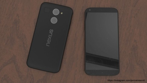Nexus 5 2015 Jermaine Smit render 3