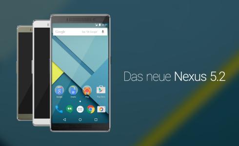Nexus 5.2 concept august 2015