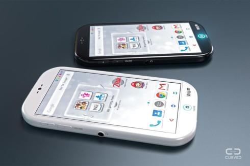 Nintendo smartphone concept curved de 10