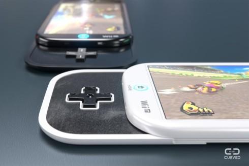 Nintendo smartphone concept curved de 2