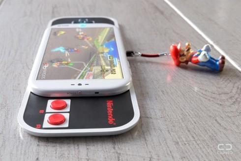 Nintendo smartphone concept curved de 4
