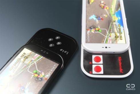 Nintendo smartphone concept curved de 9