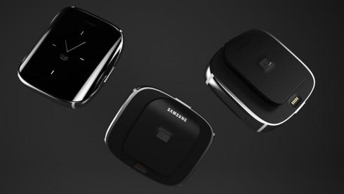 Samsung Galaxy S6 Edge smartwatch concept 4