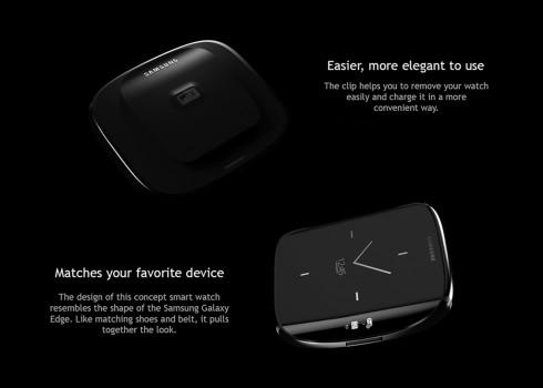 Samsung Galaxy S6 Edge smartwatch concept 7