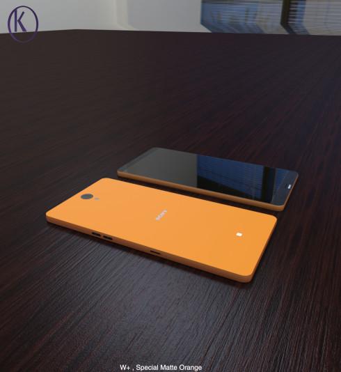 Sony Xperia W W+ concepts 1