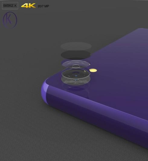 Sony Xperia Z5 concept Kiarash Kia 4