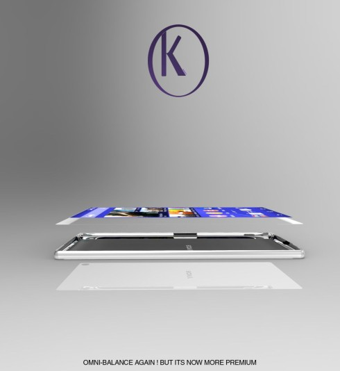 Sony Xperia Z5 concept Kiarash Kia 6