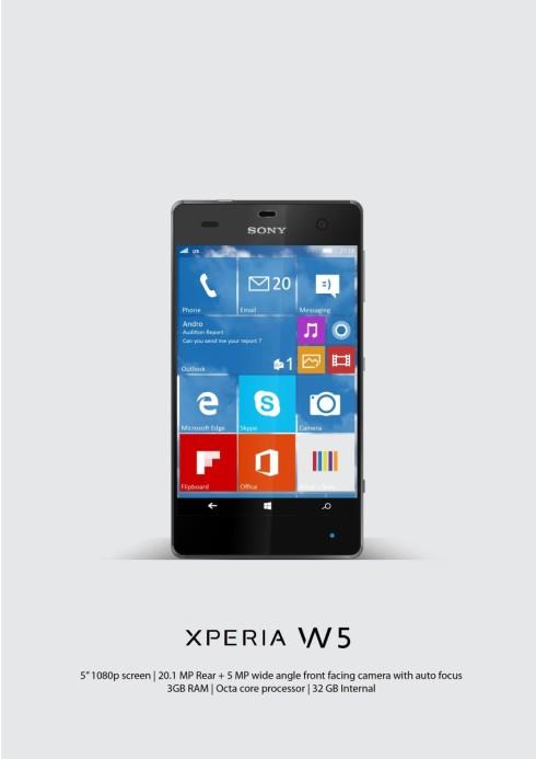 XPERIA W5-01
