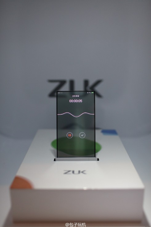 ZUK transparent display concept phone 4