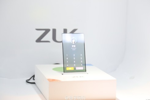 ZUK transparent display concept phone 5