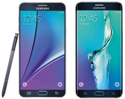 galaxy note 5 and galaxy s6 edge plus final renders