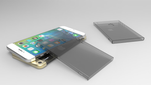 iPhone 7 concept design wrapped gorilla glass 4 3