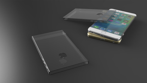 iPhone 7 concept design wrapped gorilla glass 4 4