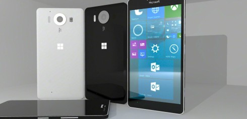 Lumia 950 prototype design 1