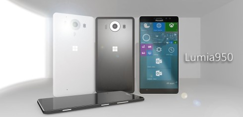 Lumia 950 prototype design 2