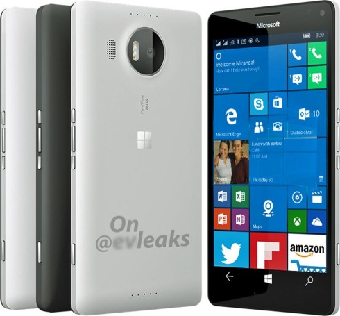 Microsoft Lumia 950 XL design leak
