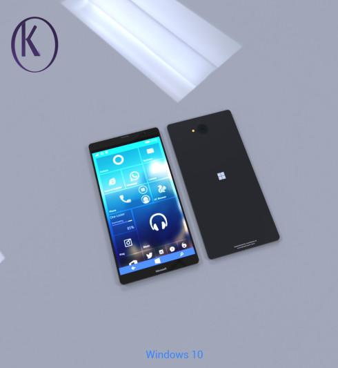Microsoft Lumia XL flagship concept kiarash 1