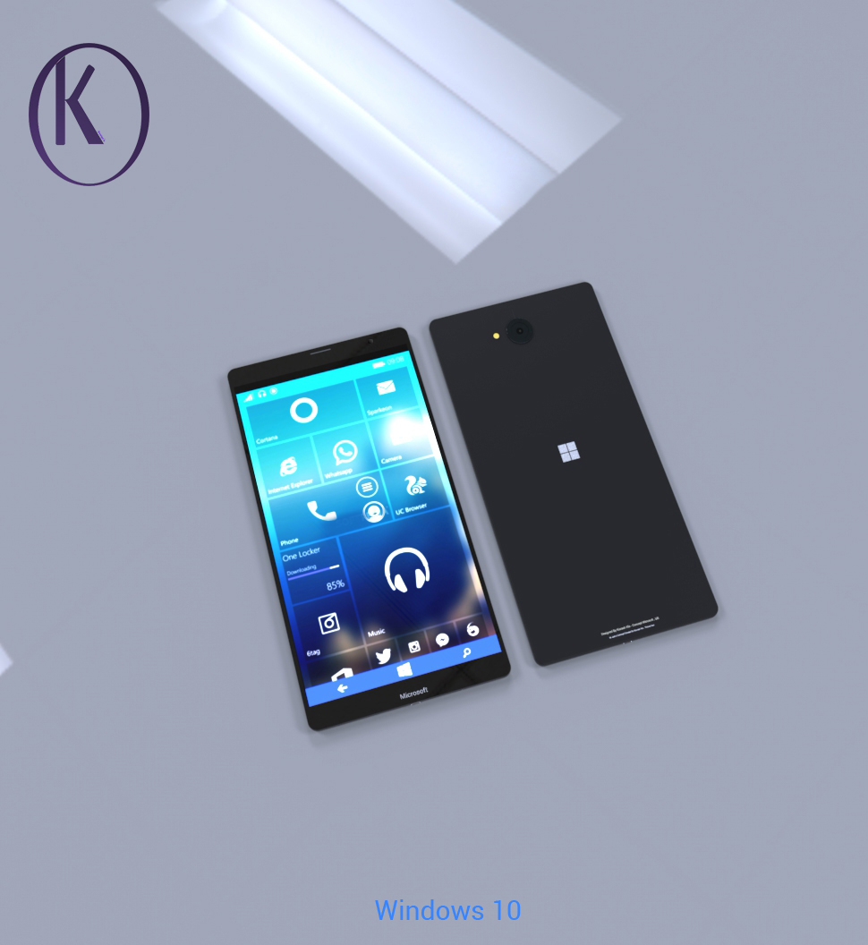 Microsoft Lumia XL Flagship Given Another Go by Kiarash ...
