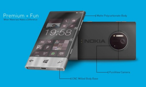 Nokia concept premium and fun 1