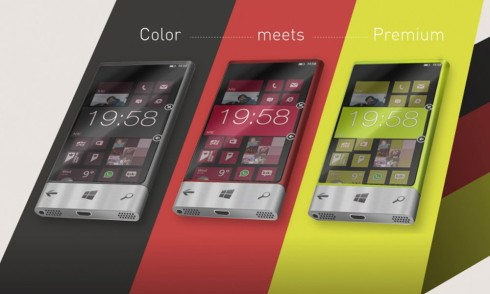 Nokia concept premium and fun 2