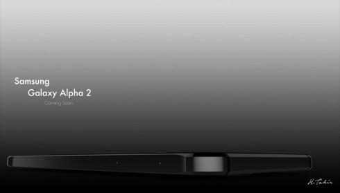 Samsung Galaxy Alpha 2 teaser image