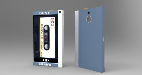 Sony TPS-L2 Walkman tribute concept 1
