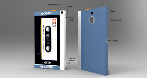 Sony TPS-L2 Walkman tribute concept 2