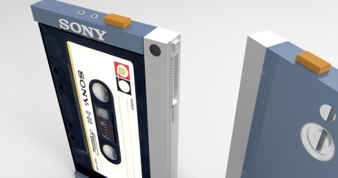 Sony TPS-L2 Walkman tribute concept 3