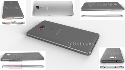 huawei mate 7 plus leak render 2