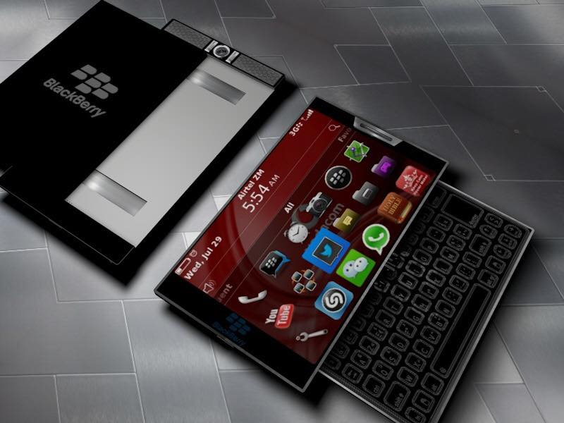 Blackberry Priv 2 Gets Rendered With Totally Different